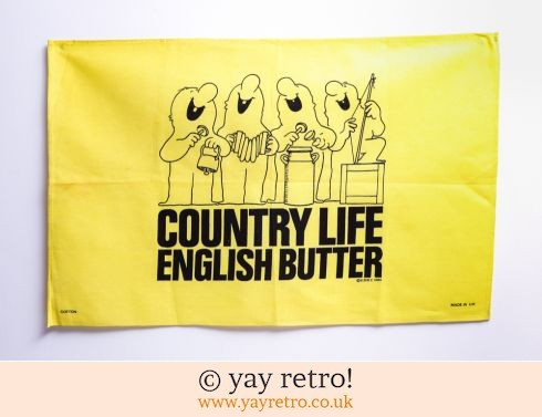 0: 1983 Country Life Butter Tea Towel (£7.00)