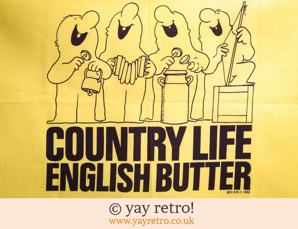 1983 Country Life Butter Tea Towel (£7.00)