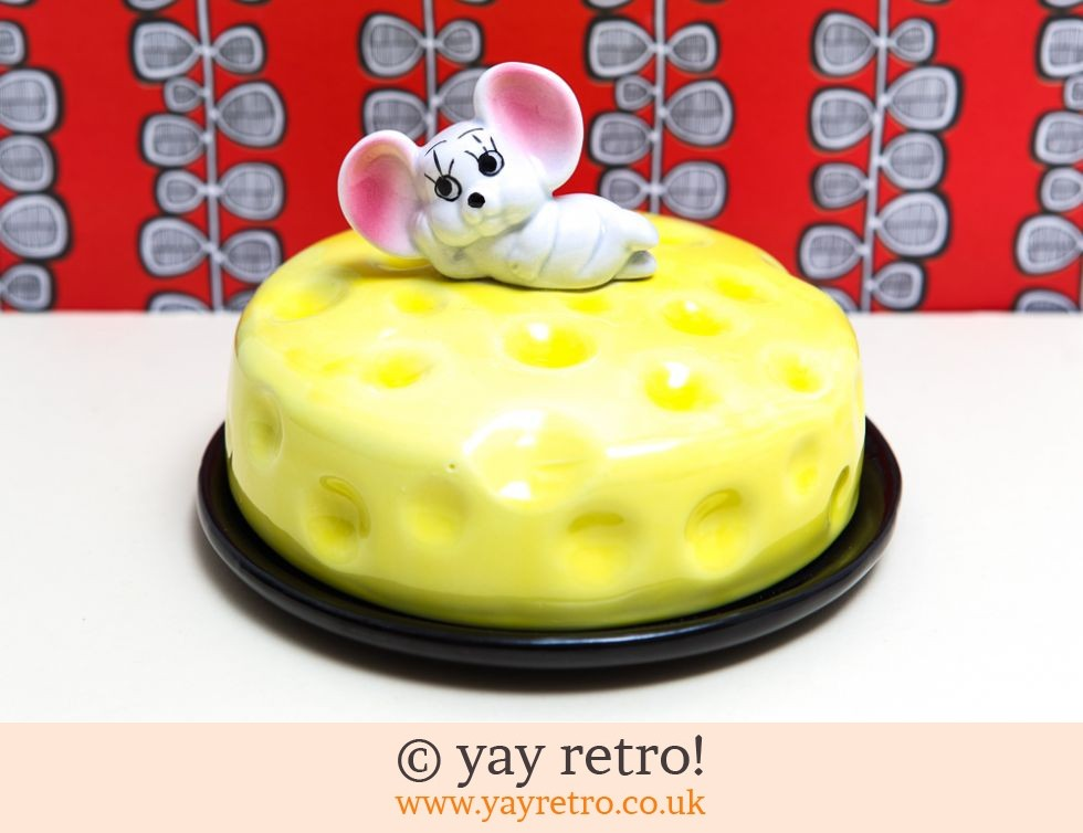 70s mouse cheese dish