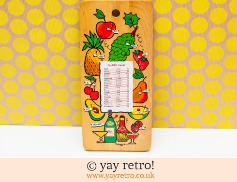 Vintage Chopping Board - Pineapple! (£14.00)