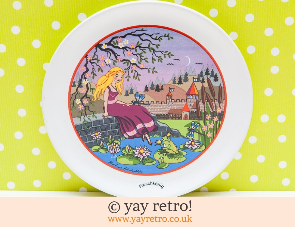 Barbara Furstenhofer: The Frog Prince Plate - Furstenhofer (£6.00)