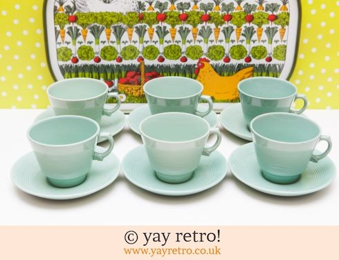 0: Large Beryl Tea Cups and Saucers (£49.00)