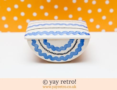 0: Art Deco Fine Curved Lidded Dish (£15.00)
