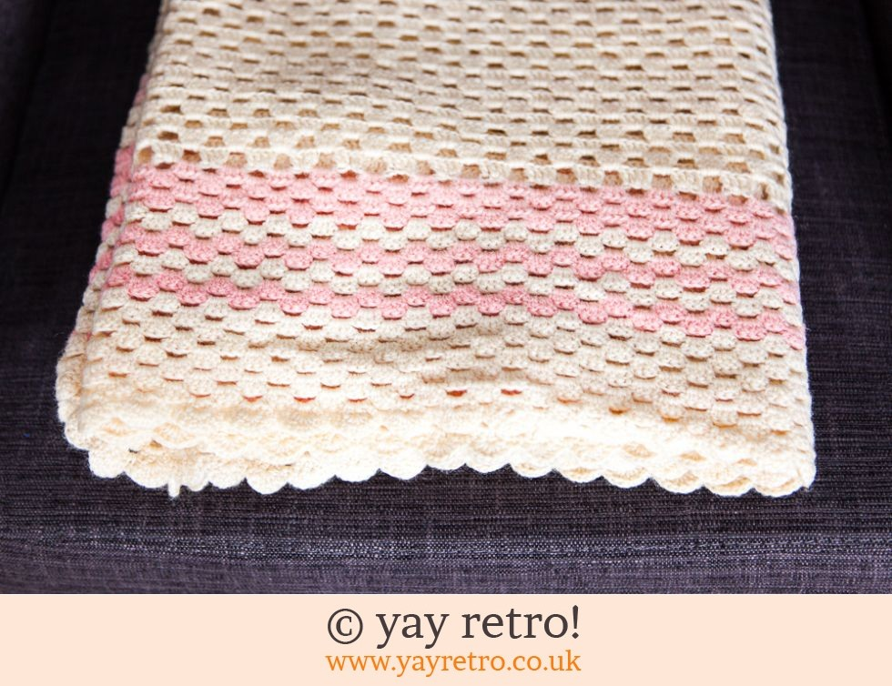 Handmade Crochet Throw / Blanket (£15.50)