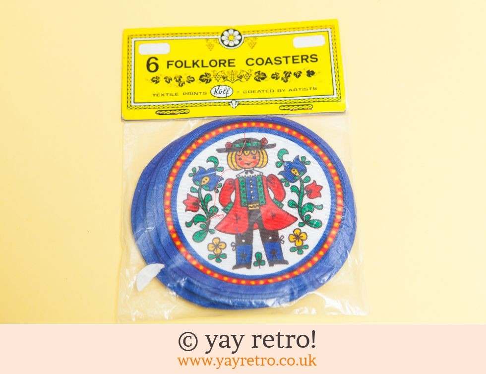 Folksy Oven Glove and Coasters Set (£10.00)