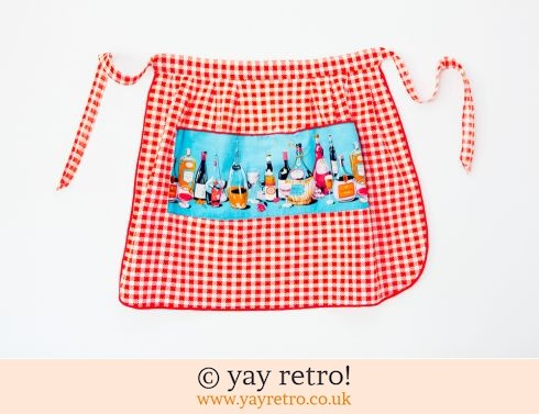 1950s Gingham 'Party' Apron (£6.00)