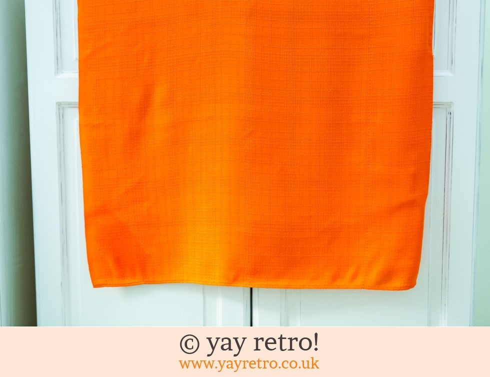 Bright Orange 70s Tablecloth (£10.00)