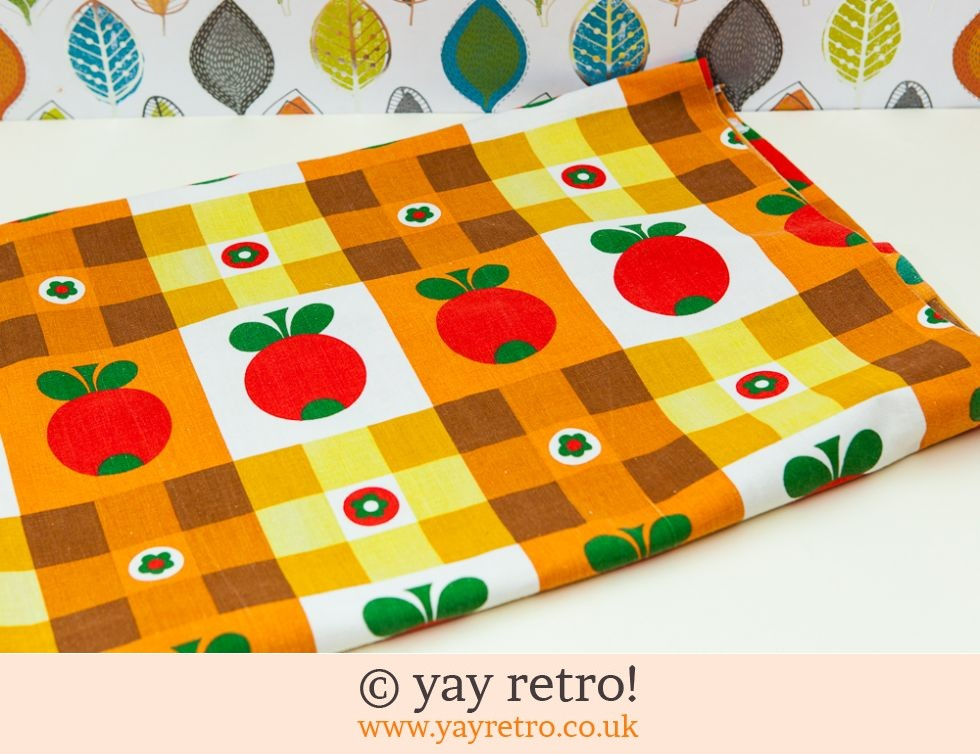 Scandi Apple Fabric Panel (£19.50)