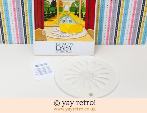 63: Dartington Daisy Butter Platter (£12.00)