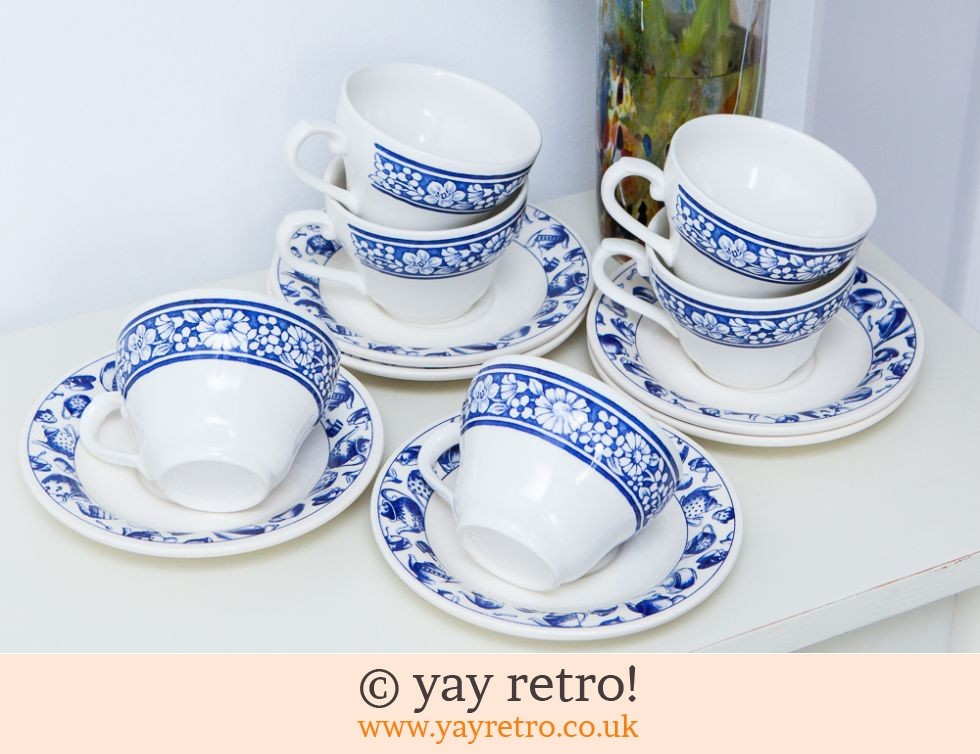 Blue and White Vintage Tea Set (£9.50)