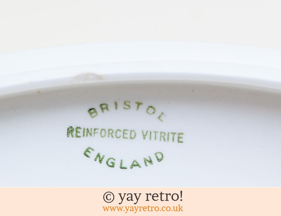 Bristol 30/40s Divided Lidded Dish (£5.00)