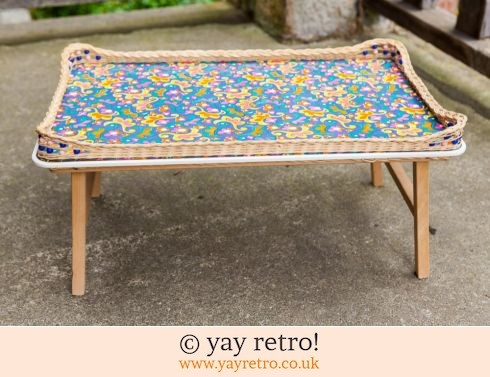 Folding Psychedelic Flower Power 60s Table (£35.00)