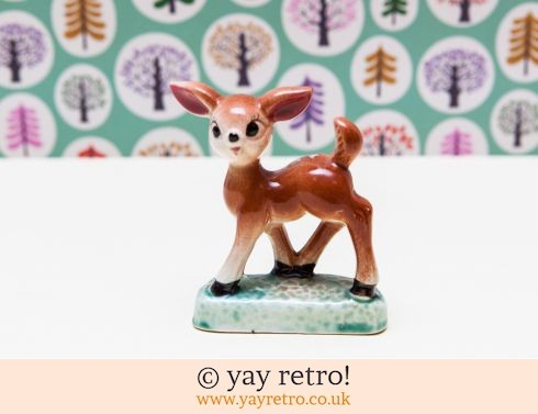 0: 1950s Kitsch Deer Ornament (£7.80)