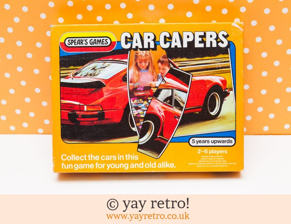 Vintage Car Capers Game Buy Yay Retro Handmade Crochet