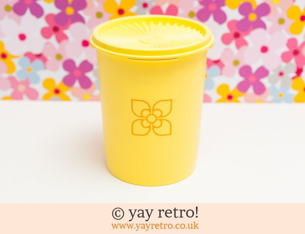 Tupperware: Bright Yellow Tupperware (£5.50)