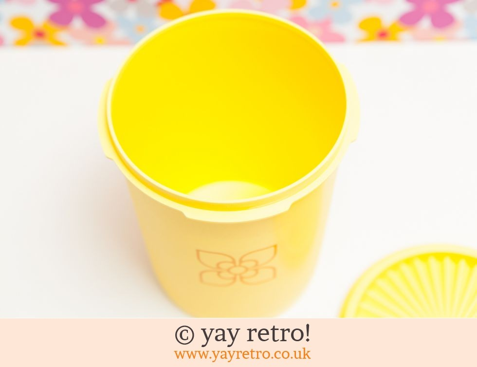 Bright Yellow Tupperware (£5.50)