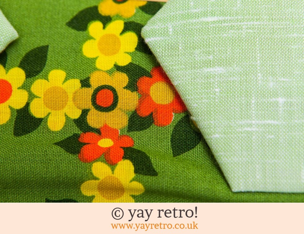 1960s Flowery Tablecloth & Napkin set (£19.50)