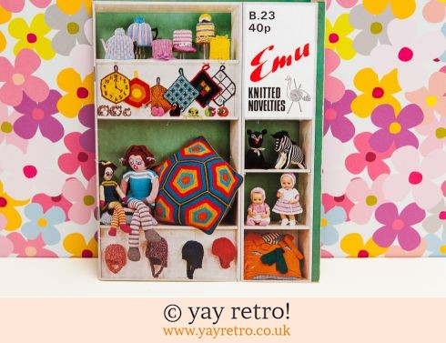 Emu Knitted Novelties Book (£7.50)