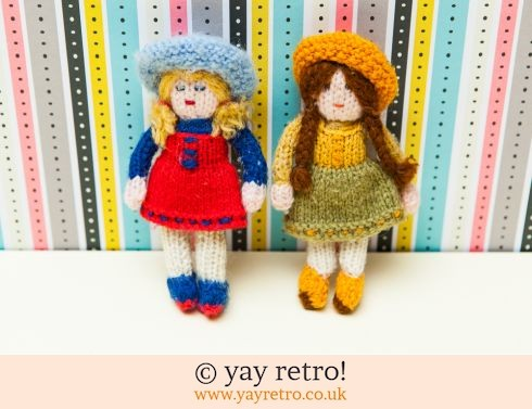 0: Ditsy Knitted Dolls (£5.00)