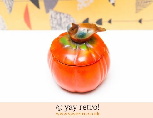 321: Orange Bird Goebel Pot (£5.75)