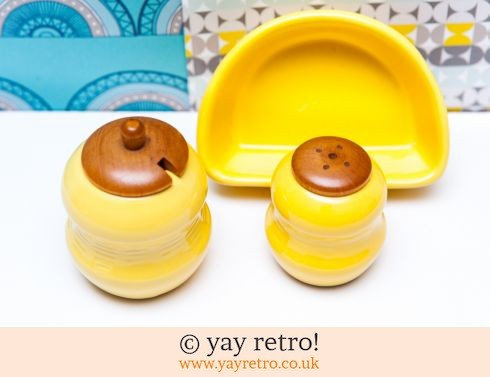 460: Scandi Yellow Salt & Pepper Set (£11.50)