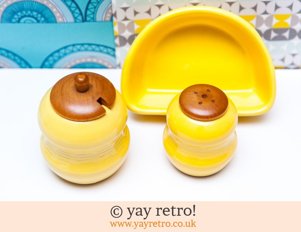 Jie Gantofta: Scandi Yellow Salt & Pepper Set (£11.50)