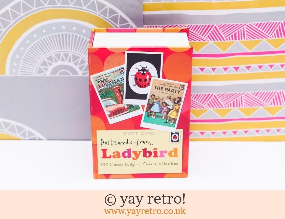 Ladybird: 100 Ladybird Postcards in One Box (£13.95)