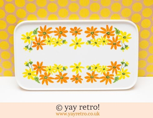 55: Flower Power 60/70s Tray (£17.00)