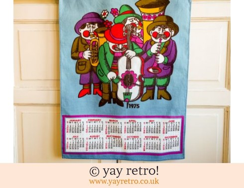 0: Vintage Cotton 1975 Oompah Band Scandi Calendar (£14.75)