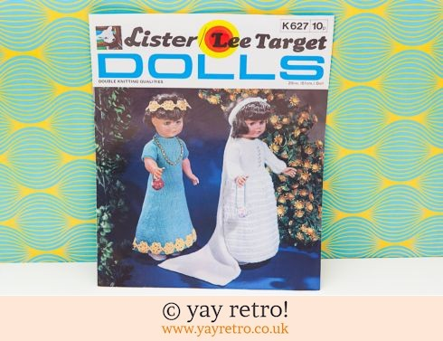 0: Vintage Dolls Clothes Bride & Bridesmaid Knitting Pattern (£3.00)