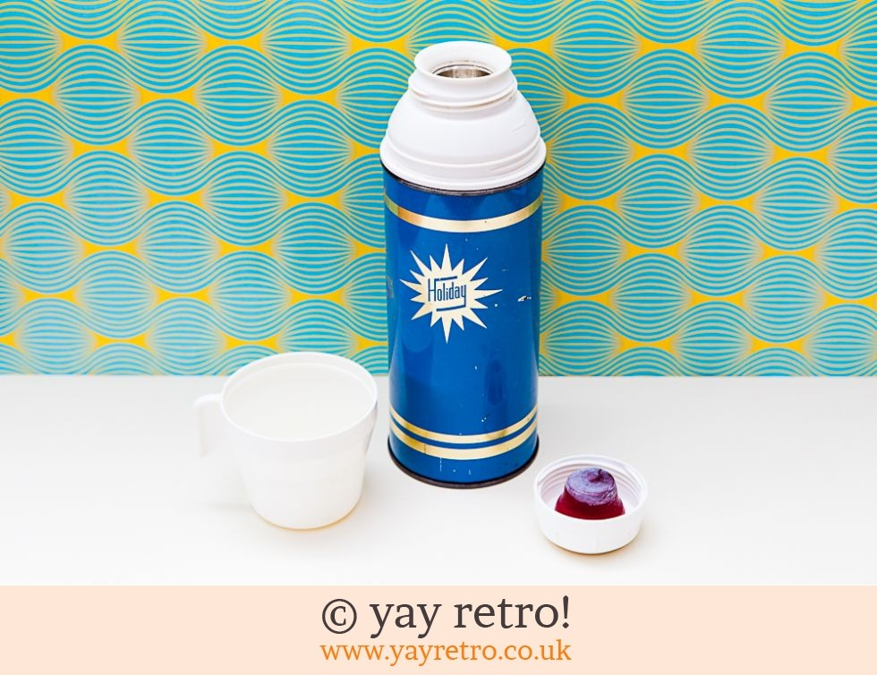 Thermos: Vintage Thermos 'Holiday' Flask (£9.50)