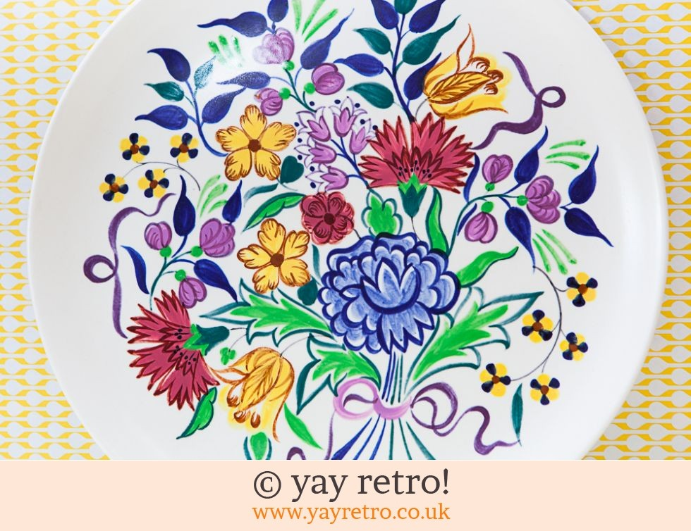 Poole Pottery 32cm Flower Serving Plate (£14.00)