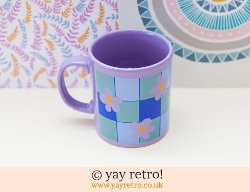 Staffordshire Pottery: Staffordshire Potteries Mug Funky Daisy (£9.00)