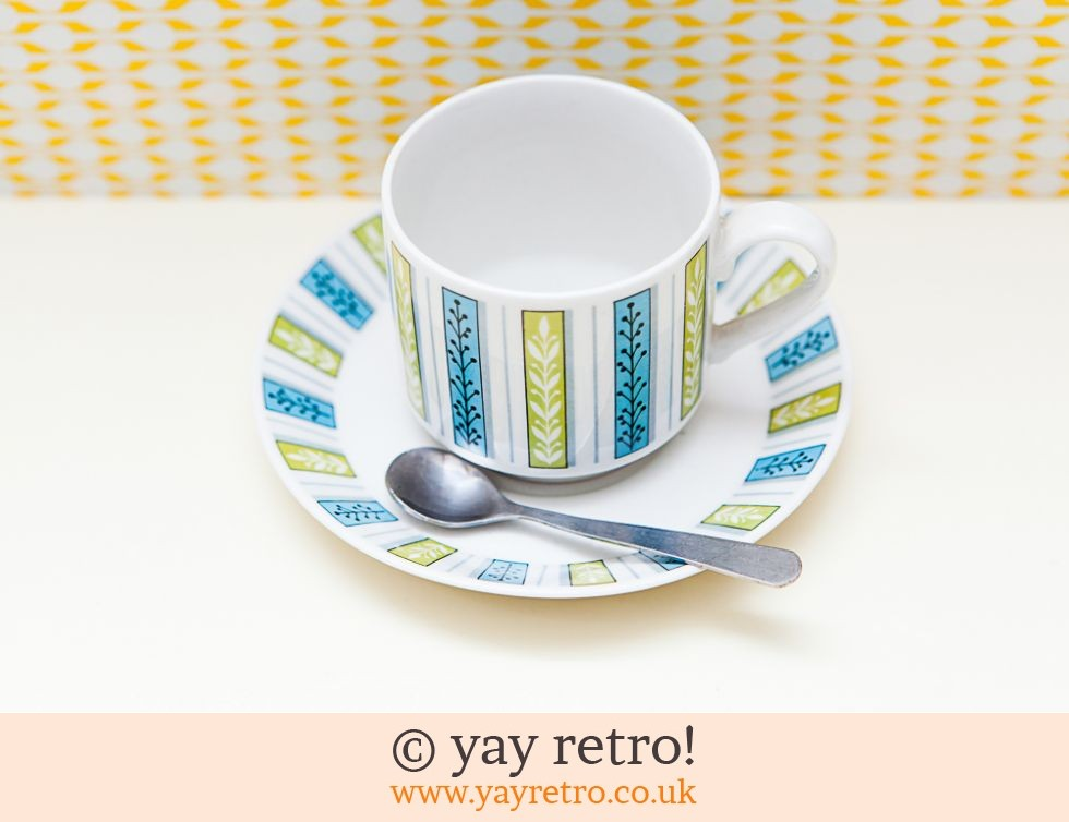 Midwinter Jessie Tait Cup & Saucer = Free spoon (£6.00)