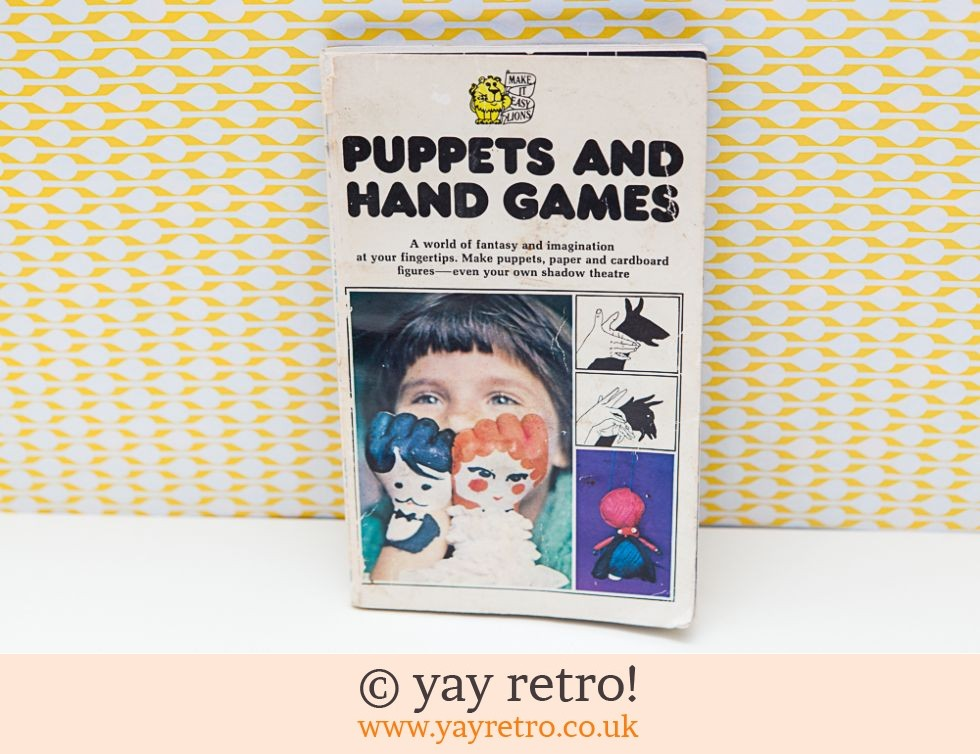 Puppets and Hand Games Book 1974 (£3.00)