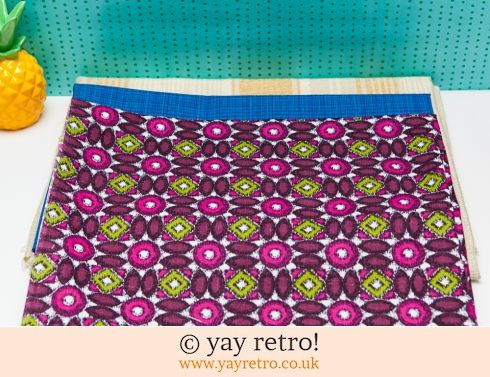 0: Good Sized Vintage Fabric Pieces x3 (£5.00)