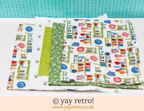 0: Fabric Pieces x 5 (£5.00)