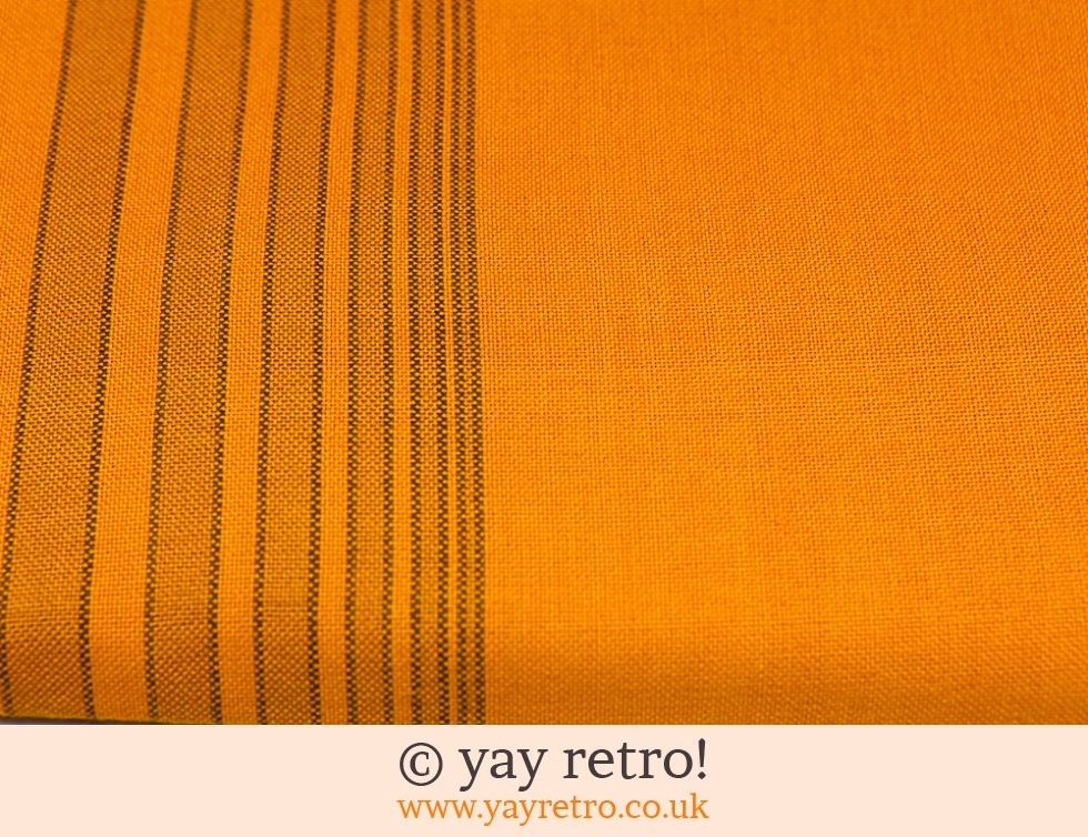 Unused 70s Orange Tablecloth - Boxed! (£21.50)