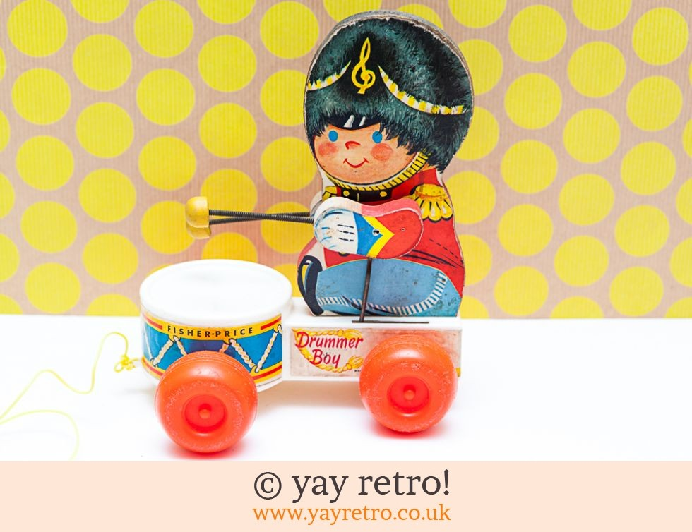 Fisher Price: Fisher Price 'Drummer Boy' 1967 Pull Along (£25.00)