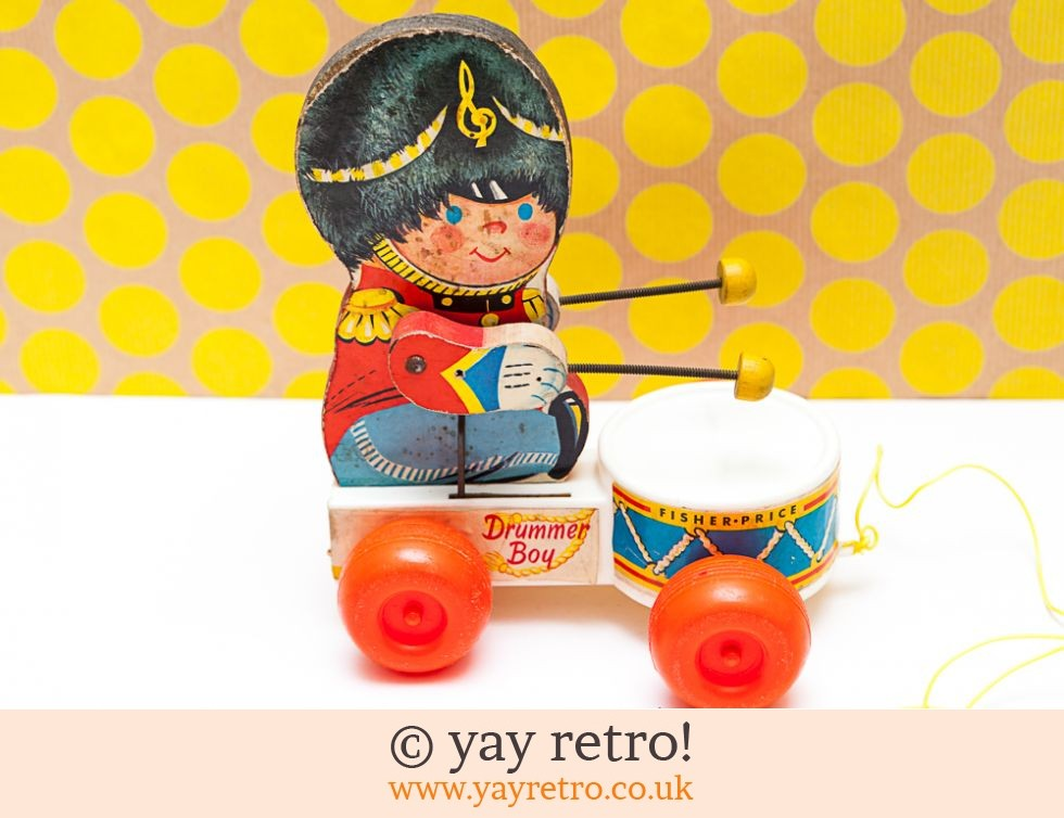 Fisher Price 'Drummer Boy' 1967 Pull Along (£25.00)
