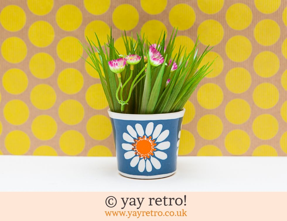Figgjo Flint Daisy Beaker or Plant Pot (£18.00)