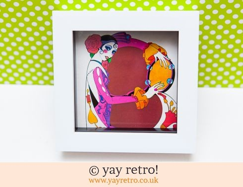 0: 1971 Tambourine Lady Framed 4 x 4 (£8.25)