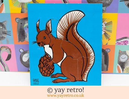 447: Galt Toys Squirrel Jigsaw 70s (£10.00)