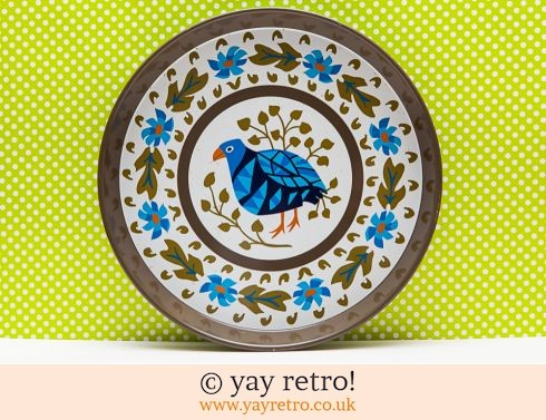 102: Rare Blue Bird Worcester ware tray (£29.95)