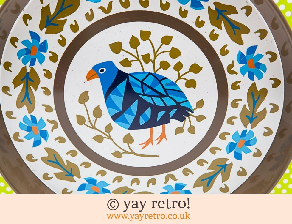 Rare Blue Bird Worcester ware tray (£29.95)