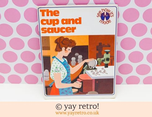 708: Fab Vintage The Cup & Saucer Book 1976 (£7.50)