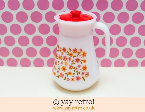 Arcopal Flower Power Lidded Jug (£11.00)