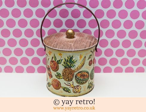 277: Baretware Pineapple 'Plantation' Biscuit Tin (£19.00)