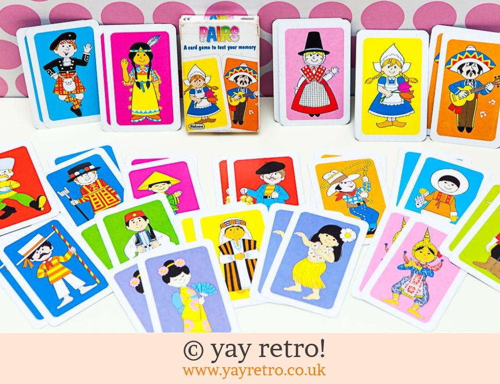Falcon: Vintage People of the World Pairs Game (£7.00)