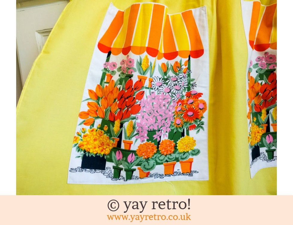 Simply Amazing Vintage Flower Apron - As New (£16.95)